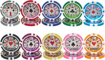 300 Ct - Custom - Hi Roller 14 Gram - Wooden Carousel
