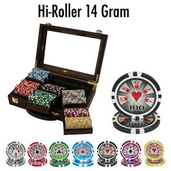 300 Ct - Pre-Packaged - Hi Roller 14 G - Walnut