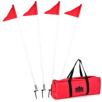 4 Pack of Soccer Corner Flags