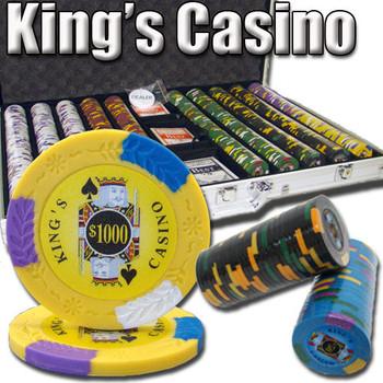 1,000 Ct - Pre-Packaged - Kings Casino 14 G - Aluminum