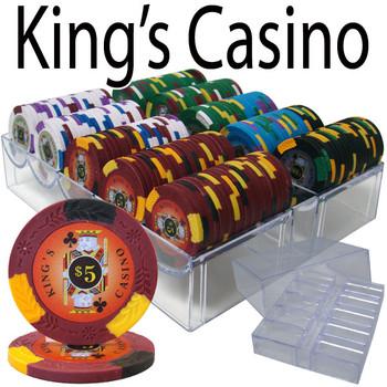 200 Ct - Custom Breakout - Kings Casino 14 G - Acrylic Tray