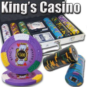 300 Ct - Custom Breakout - Kings Casino 14 G - Aluminum