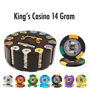 300 Ct - Pre-Packaged - King's Casino 14 G - Wooden Carousel