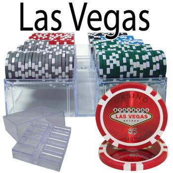 200 Ct - Custom Breakout - Las Vegas 14 G - Acrylic Tray
