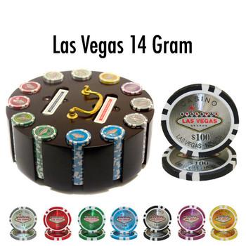 300 Ct - Custom - Las Vegas 14 G - Wooden Carousel