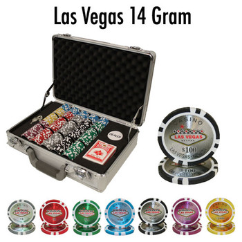 300 Ct - Pre-Packaged - Las Vegas 14 G - Claysmith