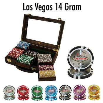 300 Ct - Custom Breakout - Las Vegas 14 G - Walnut