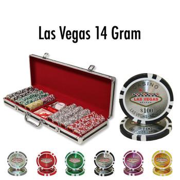 500 Ct - Custom Breakout - Las Vegas 14 G - Black Aluminum