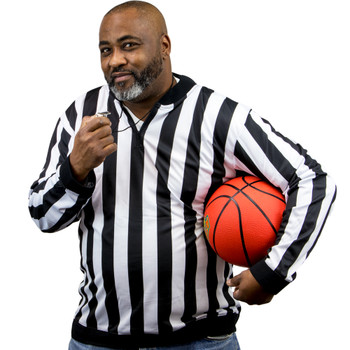 Men's Long Sleeve Referee Jersey, XL