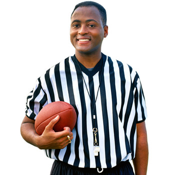 Men's V-neck Referee Jersey, small