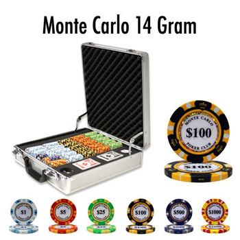500 Ct - Custom Breakout - Monte Carlo 14 Gram - Claysmith