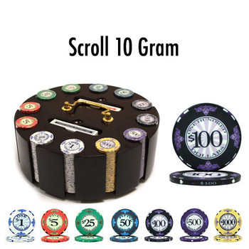 300 Ct - Pre-Packaged - Scroll 10 Gram - Wooden Carousel