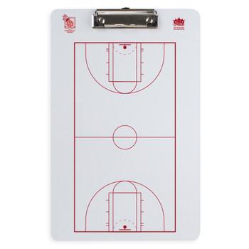 Dry Erase Basketball Coaching Clipboard