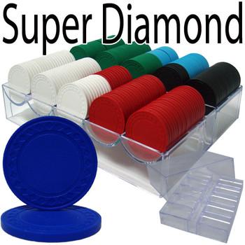 Custom Breakout 200 Ct Super Diamond Chip Set Acrylic Tray