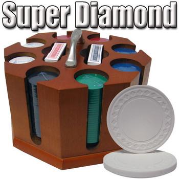 Custom Breakout 200 Ct Super Diamond Chip Set Wood Carousel
