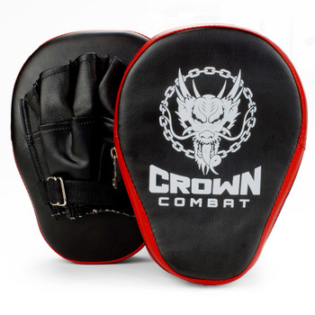 Curved Punch Mitts, 2-pack
