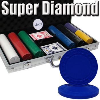 Custom Breakout 300 Ct Super Diamond Chip Set - Aluminum
