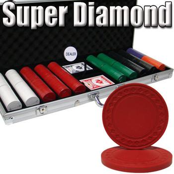 Custom Breakout 500 Ct Super Diamond Chip Set - Aluminum