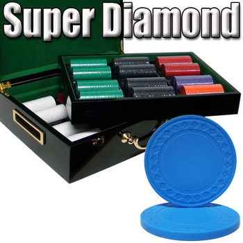 Custom Breakout 500 Ct Super Diamond Chip Set - Hi Gloss
