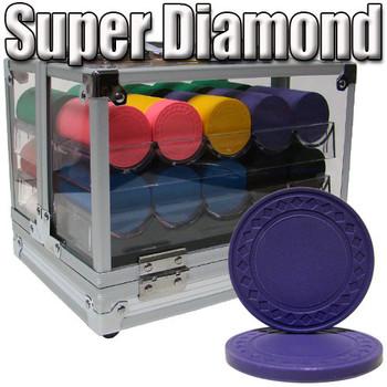 Custom Breakout 600 Ct Super Diamond Chip Set - Acrylic