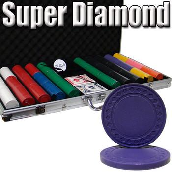 Custom Breakout 750 Ct Super Diamond Chip Set - Aluminum