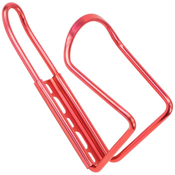 Anodized Aluminum Bicycle Bottle Cage, Red