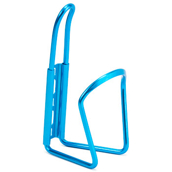 Anodized Aluminum Bicycle Bottle Cage, Blue