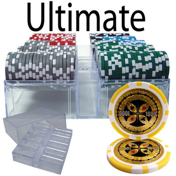 200 Ct - Pre-Packaged - Ultimate 14 G - Acrylic Tray