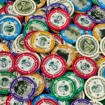 The Greenbacks: History Chips Poker Chip Set