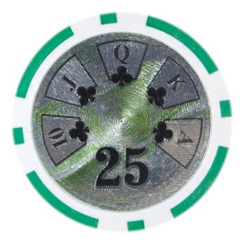 Roll of 25 - Ben Franklin 14 gram - $25