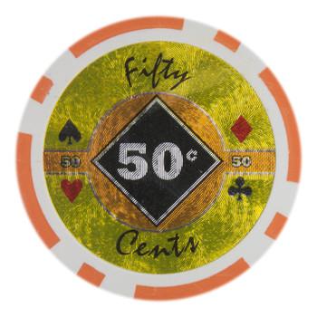 Roll of 25 - Black Diamond 14 Gram - .50¢ (cent)