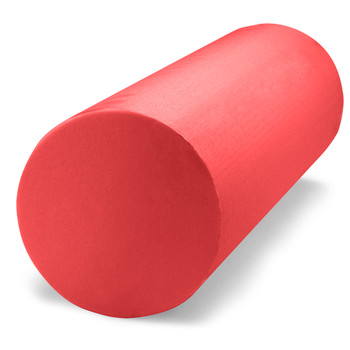 "Red 12"" x 6"" Premium High-Density EVA Foam Roller"