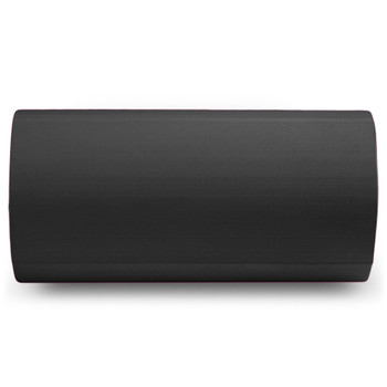 "Black 12"" x 6"" Premium High-Density EVA Foam Roller"
