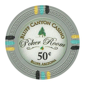 Roll of 25 - Bluff Canyon 13.5 Gram - .50¢ (cent)