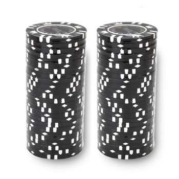 Roll of 25 - Coin Inlay 15 Gram - $100 Chip