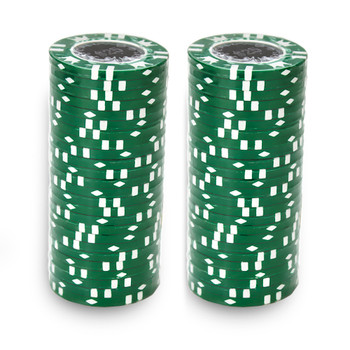 Roll of 25 - Coin Inlay 15 Gram - $25 Chip