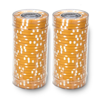 Roll of 25 - Coin Inlay 15 Gram - $500 Chip