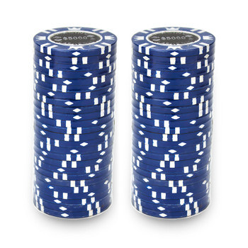 Roll of 25 - Coin Inlay 15 Gram - $5,000 Chip