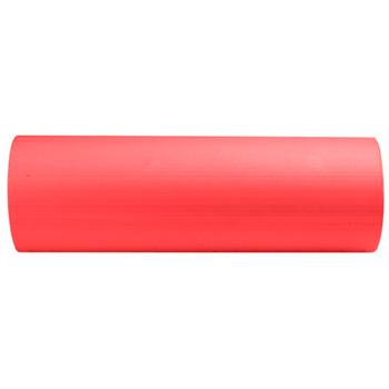 "Red 18"" x 6"" Premium High-Density EVA Foam Roller"