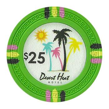 Roll of 25 - Desert Heat 13.5 Gram - $25