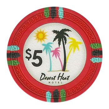 Roll of 25 - Desert Heat 13.5 Gram - $5