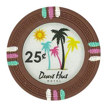Roll of 25 - Desert Heat 13.5 Gram - .25¢ (cent)