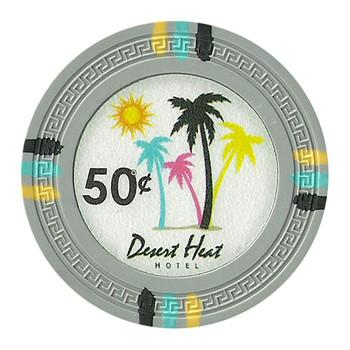 Roll of 25 - Desert Heat 13.5 Gram - .50¢ (cent)