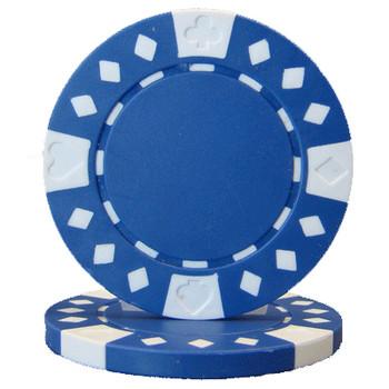 Roll of 25 - Diamond Suited 12.5 gram - Blue