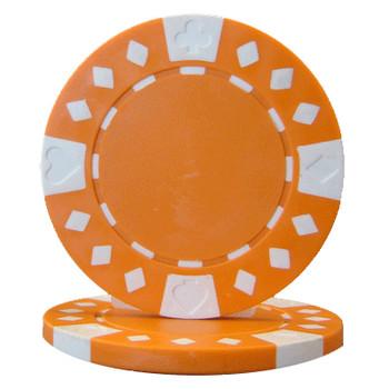Roll of 25 - Diamond Suited 12.5 gram - Orange