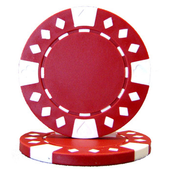 Roll of 25 - Diamond Suited 12.5 gram - Red