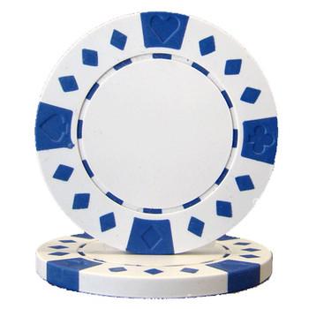 Roll of 25 - Diamond Suited 12.5 gram - White