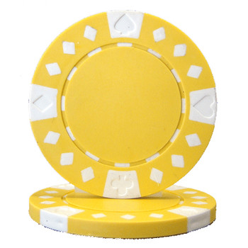 Roll of 25 - Diamond Suited 12.5 gram - Yellow