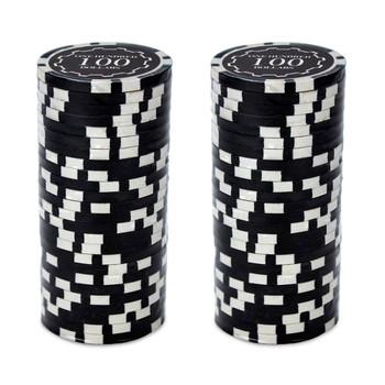 Roll of 25 - Eclipse 14 Gram Poker Chips - $100