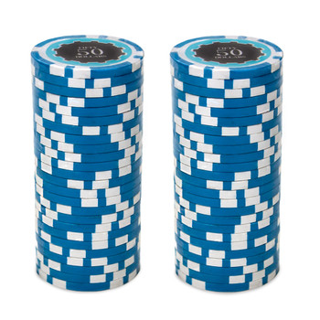 Roll of 25 - Eclipse 14 Gram Poker Chips - $50